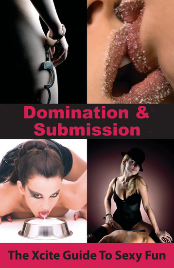 Domination and Submission - An Xcite Guide to Sexy Fun - cover