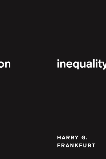On Inequality - cover