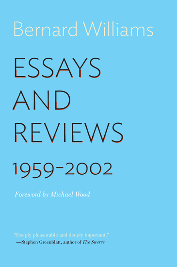 Essays and Reviews - 1959–2002 - cover