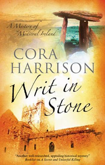 Writ in Stone - A Burren Medieval Mystery 4 - cover