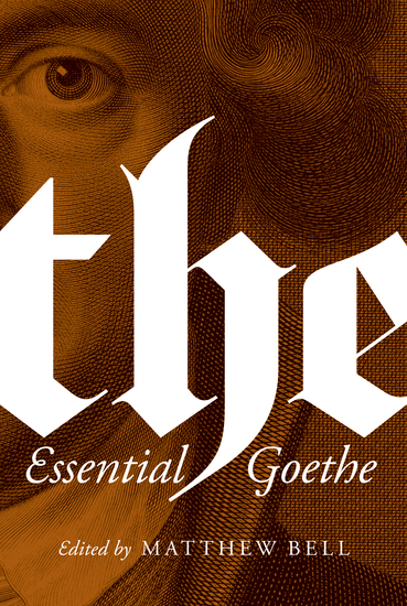 The Essential Goethe - cover