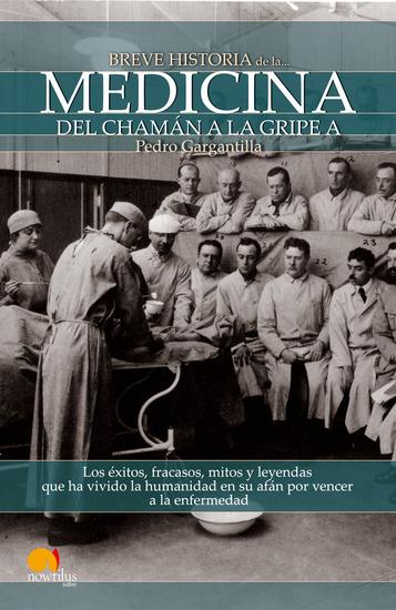 Breve historia de la medicina - cover