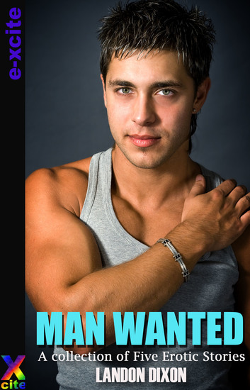 Man Wanted - A collection of five erotic short stories - cover
