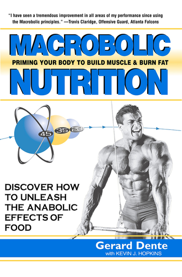 Macrobolic Nutrition - Priming Your Body to Build Muscle & Burn Fat - cover
