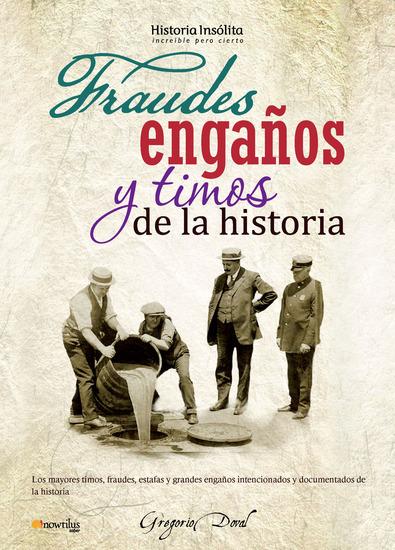 Fraudes engaños y timos de la historia - cover