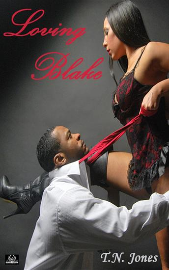Loving Blake - cover