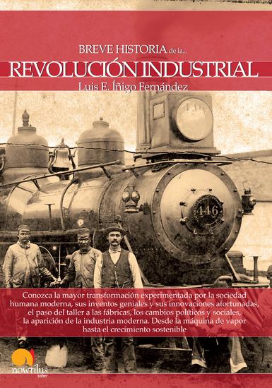 Breve historia de la Revolución Industrial - cover