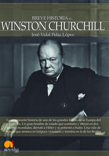 Breve historia de Winston Churchill - cover