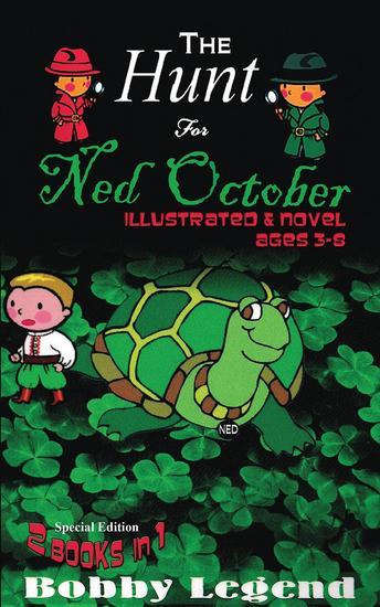 The Hunt For Ned October Illustrated & Novel - cover