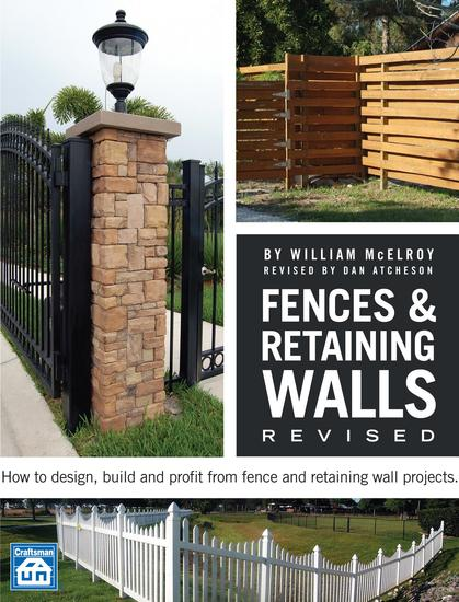 Fences & Retaining Walls Revised - cover