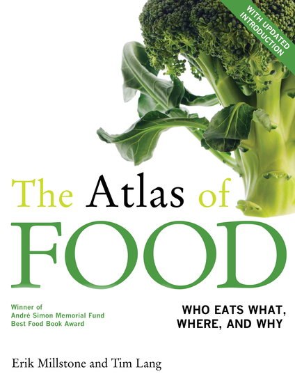 The Atlas of Food - With a New Introduction - cover