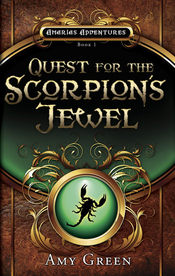 Quest for the Scorpion's Jewel - cover
