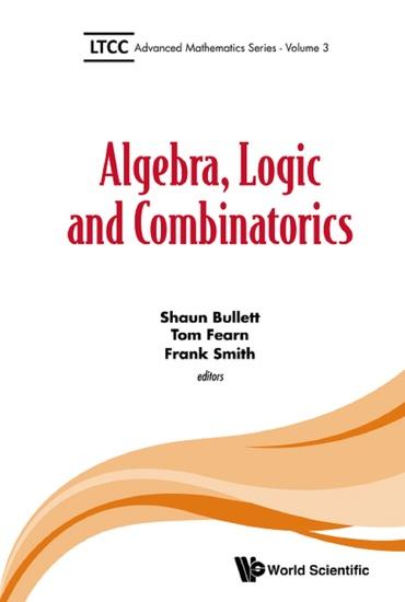 Algebra Logic and Combinatorics - cover