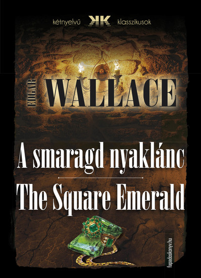 A smaragd nyaklánc - The Square Emerald - cover