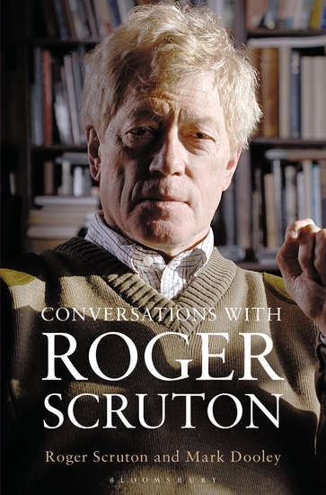 Conversations with Roger Scruton - cover