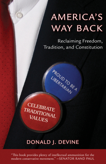 America's Way Back - Reclaiming Freedom Tradition and Constitution - cover