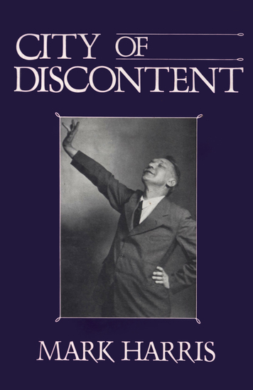 City of Discontent - An Interpretive Biography of Rachel Lindsay - cover