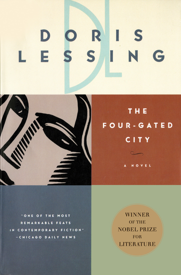The Four-Gated City - cover