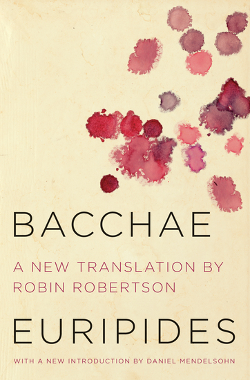 Bacchae - cover
