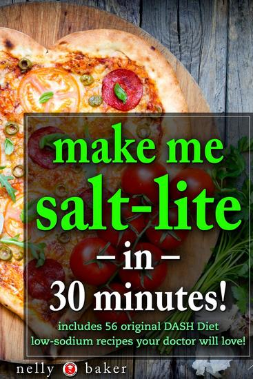 Make Me Salt-lite in 30 minutes! - My Cooking Survival Guide #3 - cover