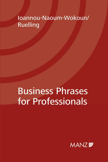Business Phrases for Professionals - How to talk shop professionally - and succeed! - cover