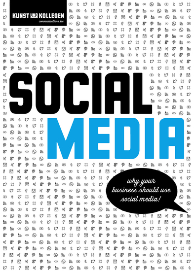 Social Media - Why your business should use social media! - cover