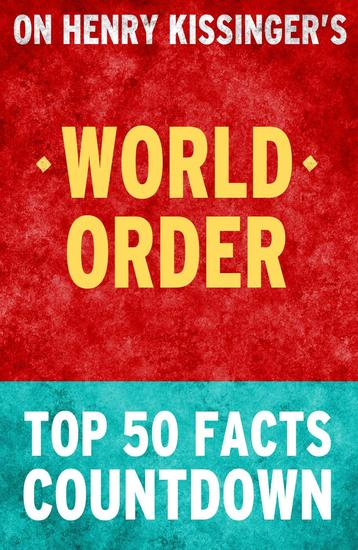 World Order: Top 50 Facts Countdown - cover