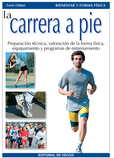 La carrera a pie - cover