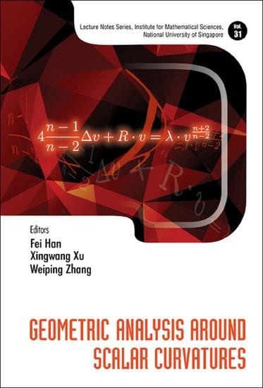 Geometric Analysis Around Scalar Curvatures - cover