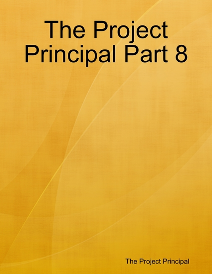 The Project Principal Part 8 - cover