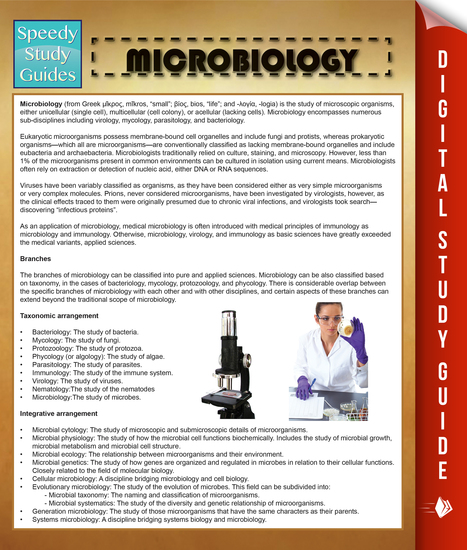 Microbiology - Speedy Study Guides - cover