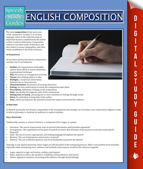 English Composition - Speedy Study Guides - cover