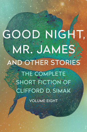 Good Night Mr James - And Other Stories - cover