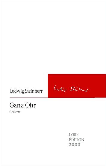 Ganz Ohr - Gedichte - cover