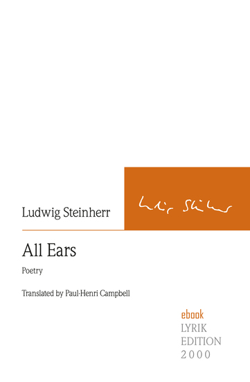 All Ears - Poetry Translated by Paul-Henri Campbell - cover