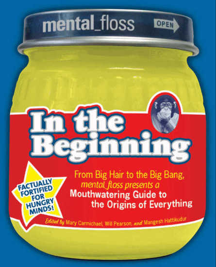 Mental Floss presents In the Beginning - cover