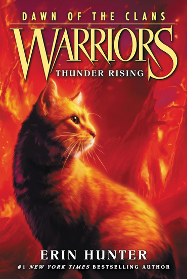Warriors: Dawn of the Clans #2: Thunder Rising - cover