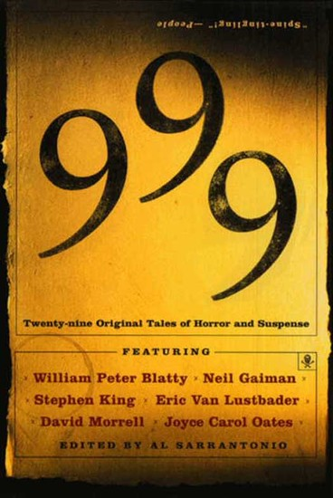 999 - New Stories Of Horror And Suspense - cover