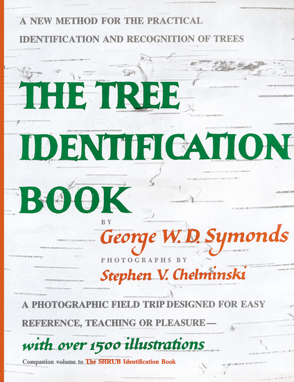 Tree Identification Book - cover