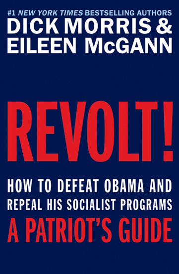 Revolt! - How to Defeat Obama and Repeal His Socialist Programs - cover