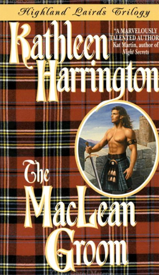 The MacLean Groom - Highland Lairds Trilogy - cover