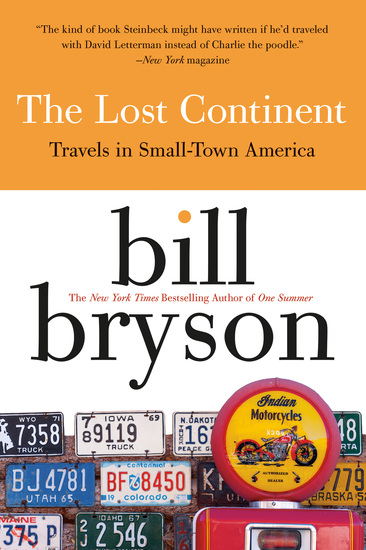 The Lost Continent - Travels in Small Town America - cover