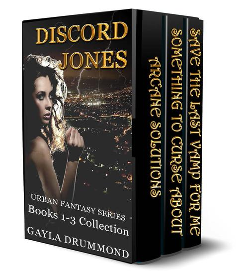 Discord Jones Urban Fantasy Series (Books 1-3 Collection) - cover