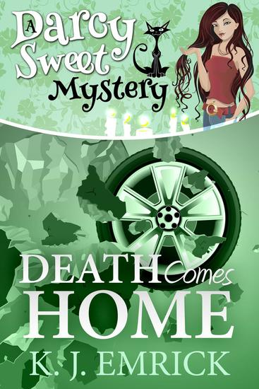 Death Comes Home - Darcy Sweet Mystery #19 - cover