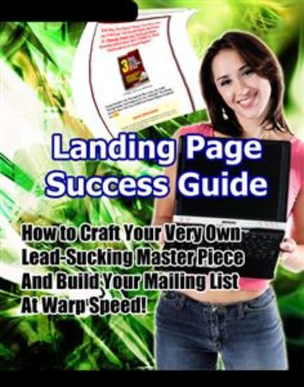 Landing Page Success Guide - cover