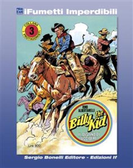 I Protagonisti n 3 (iFumetti Imperdibili) - Billy the Kid - Il destino di uccidere I Protagonisti n 3 novembre 1974 - cover