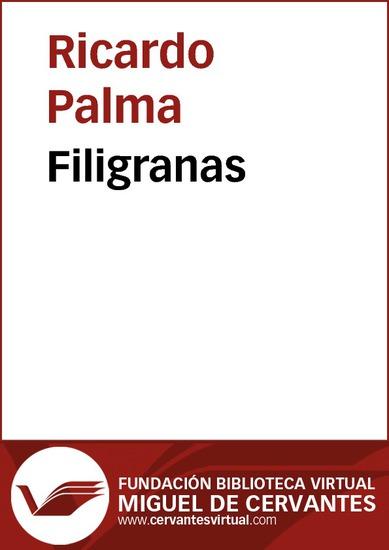 Filigranas - cover