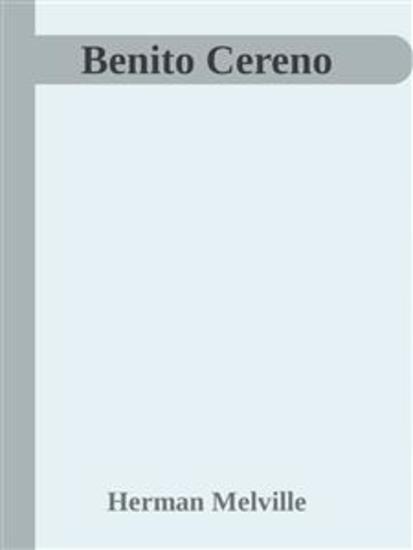 Benito Cereno - cover