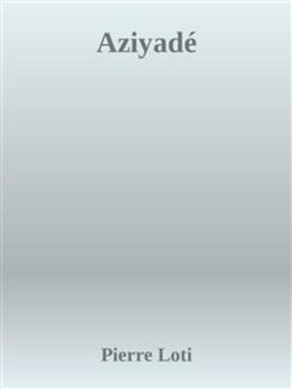 Aziyadé - cover