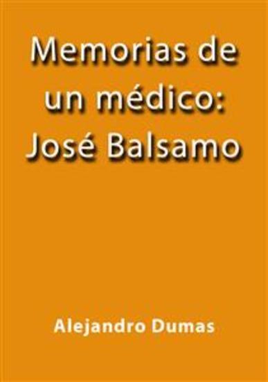 Memorias de un médico José Bálsamo - cover